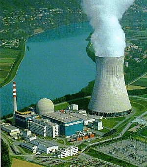 Centrale nucleare svizzera Leibstadt